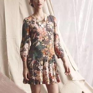 Anthropologie Minutiae Meadow Rue Tunic Dress